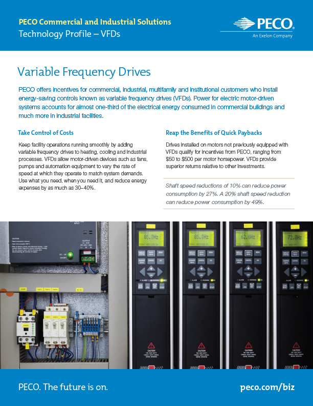 Tech Profile—Variable-Frequency Drives