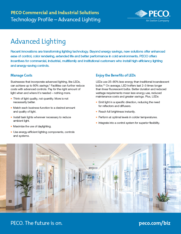 Tech Profile—Advanced Lighting