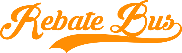 Rebate Bus logo